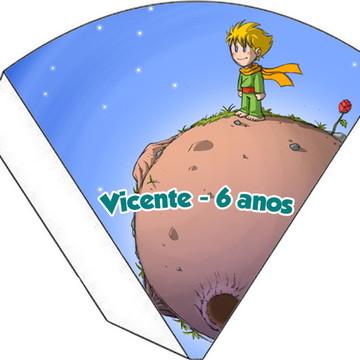 Cone Personalizado - Pequeno Princípe