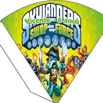 Cone Personalizado - Skylanders