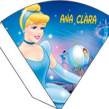 Cone Personalizado - Cinderela