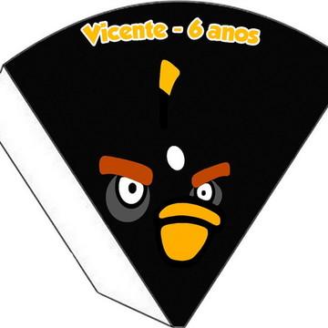 Cone Personalizado - Angry Birds