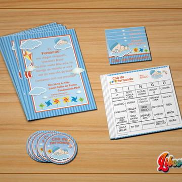 Kit digital Chá de Bebê Convite