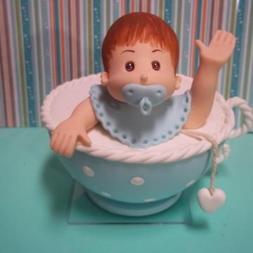 Topo de Bolo Chá de Bebê
