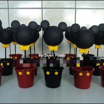 Enfeite de mesa turma do Mickey e Minnie