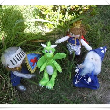 kit bonecos Rei Arthur