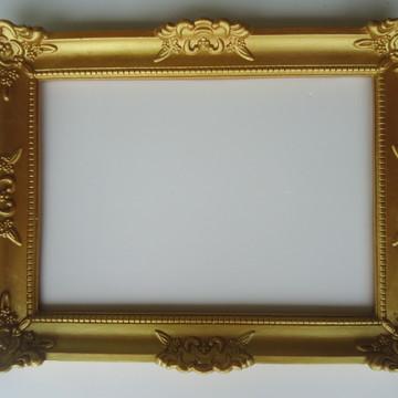 Moldura Dourada:Fotos/Espelhos/Lousa