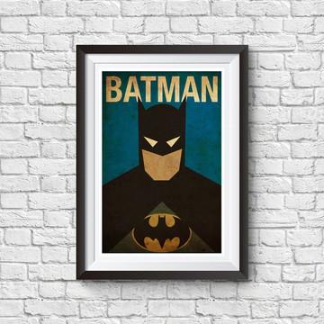 Quadro de Super Heróis