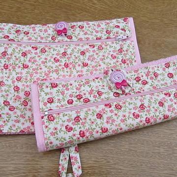 toalhinha escolar hijiênica com ziper