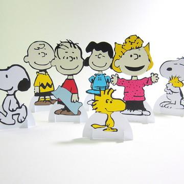 Decoração de Mesa Snoopy