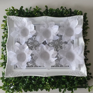 Forminhas de doces finos Branca e Prata