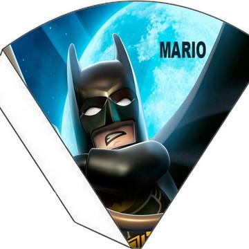 Cone Personalizado - Batman Lego