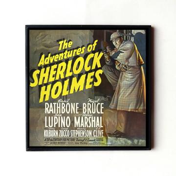 Quadro Sherlock Holmes (Cartaz)