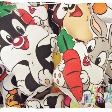 Almofadas Baby Looney Tunes LINDAS
