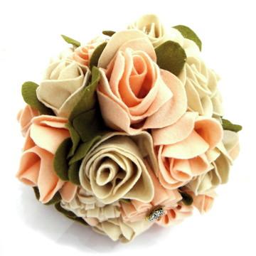 Bouquet Flores Feltro