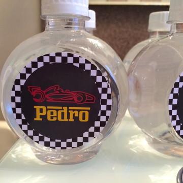 Adesivo para água tema F1