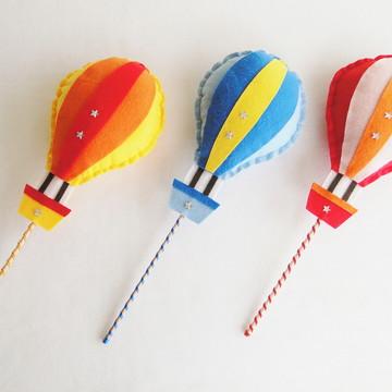 Conjunto Decor Balões no Palito espetar