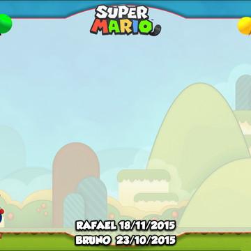 Quadro Mágico - Super Mario