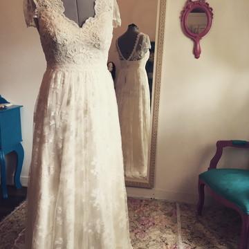 Vestido de noiva Boho chic Coleção Praia
