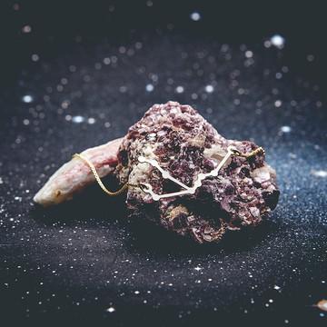 Colar Constelação Aquário Ouro