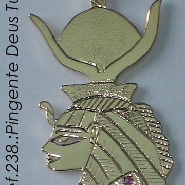 pingente Deusa Tuéris prata
