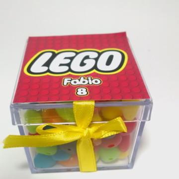 Lego Lembrancinha Caixa Acrilica
