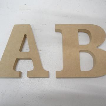 Alfabeto em MDF
