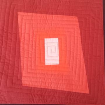 Capa de Almofada de Patchwork Moderno