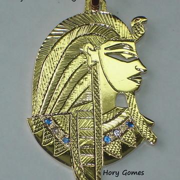 pingente Deus Osiris prata