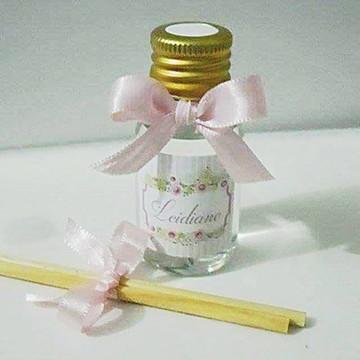 Mini Aromatizador Personalizado Floral