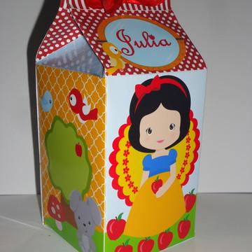Caixa Milk Branca de Neve Cute 07