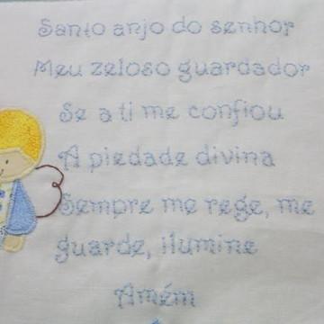 Almofada oração da criança
