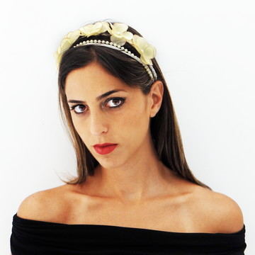 Headband Flores
