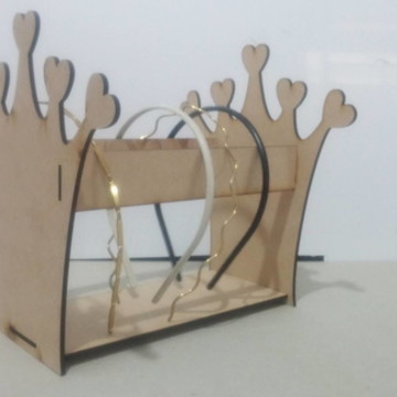 Porta Tiara Coroa MDF