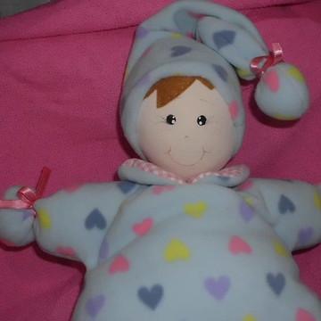 boneca de pano - BEBÊ NANINHA