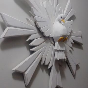 Divino Espírito Santo Madeira 50cm