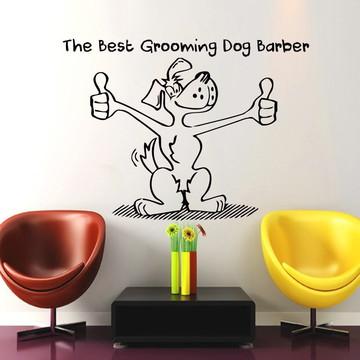 Adesivo cachorro para Pets e lojas