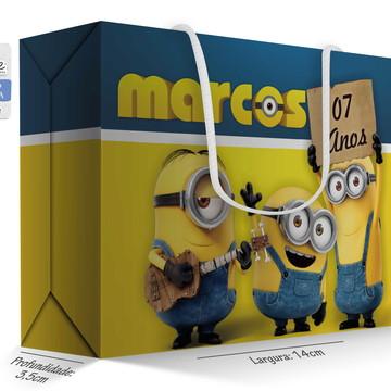 Caixa Surpresa Peq. - Minions (modelo 1)