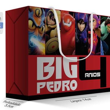 Caixa Surpresa Peq. - Big Hero