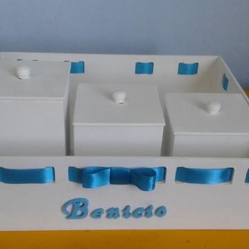 kit higiene com passa fitas