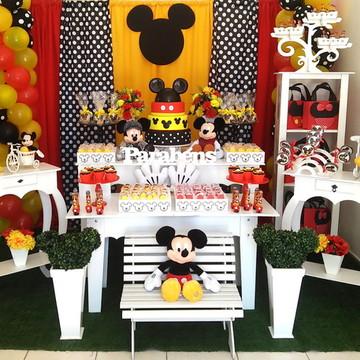 Decoração Mickey Festa Provençal