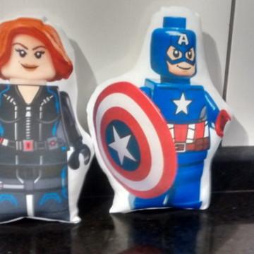 Almofada Vingadores Lego