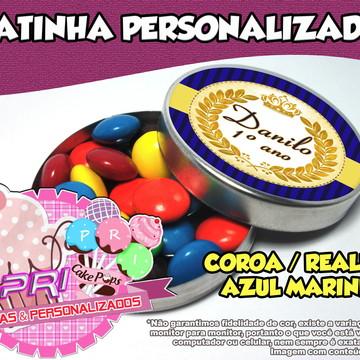Latinha Personalizada - Realeza / Coroa