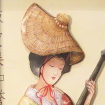 Quadro arte francesa japonesa