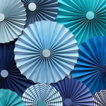 Fioratas Painel BLUE SCRAP Plus Rosette
