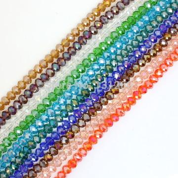 Fio de Conta -Cristal Transparente 12 mm