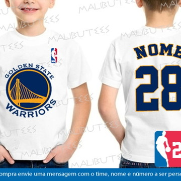 33149819b Camiseta Infantil Golden State Warriors