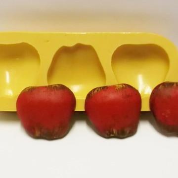Maçã - molde de silicone