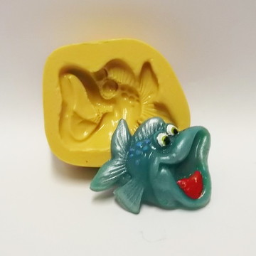 Peixe - molde de silicone