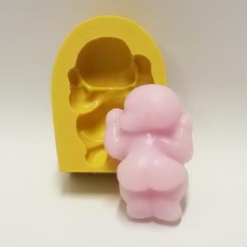 Bebê Bumbum - molde de silicone