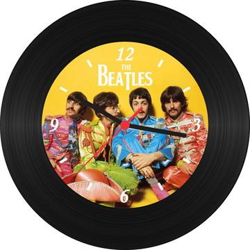 Relógio de Vinil - Sgt. Peppers