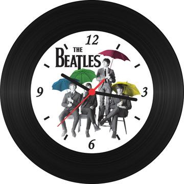 Relógio de Vinil - Umbrella Colors